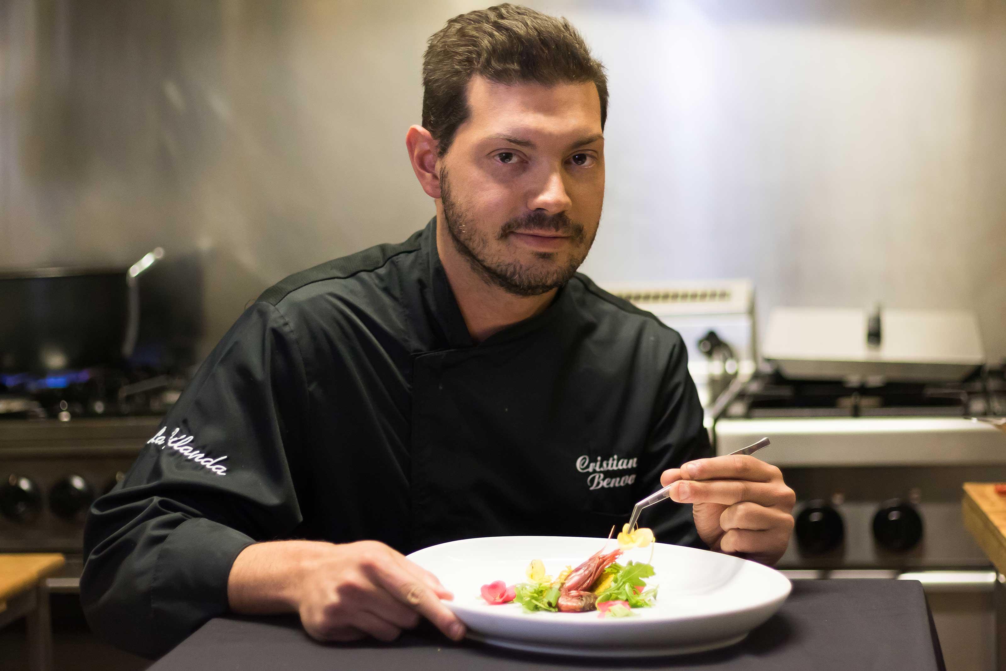 Chef Cristian Benvenuto